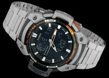 Casio Pro trek trekking steel watch triple sensor montre climbing alpine montaña