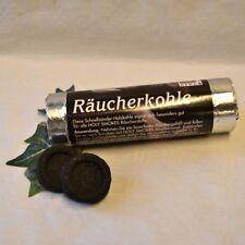 RÄUCHERKOHLE Räucherkohletabletten Tabletten Rolle mit 10 Stück 4 cm