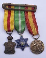 RARE MEDAGLIE MIGNON GUERRA DI SPAGNA COLONIALE WW2  Medals MIGNON War of Spain