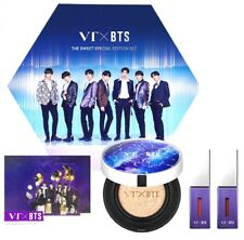 BTS X VT Cosmetics The Sweet Special Edition Set 1 Cushion and 2 Lip Fluids