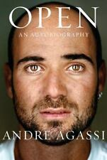Open : An Autobiography by Andre Agassi (2009, Hardcover) FIRST - SIGNED