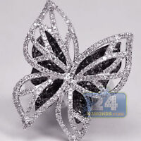 Women Fashion Butterfly Jewelry 925 Silver Rings Wedding Gift Ring Size 6-10