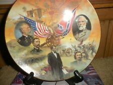 bradford exchange civil war plates