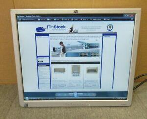 "HP L1940T EM869A HSTND-2H01 19"" LCD TFT Flat Panel Monitor VGA DVI No Stand"