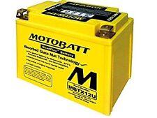 MOTOBATT MBTX12U BATTERIA 12V MOTO SCOOTER 14AH TRIUMPH Tiger SE 1050 12