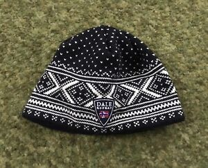 Dale of Norway Winter Ski Knit Merino Wool Hat sz L