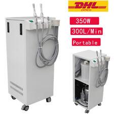 350w Dental Portable High Vacuum Suction Mobile Unit Pump 300lmin Aspirator A