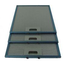 3 x CDA AEG Metal Cooker Hood Mesh Aluminium Grease Filters 320mm x 260mm