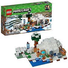LEGO 21142 Minecraft The Polar Igloo 278pcs in Hand
