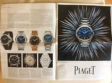 RIVISTA MAGAZINE CATALOGO OROLOGI WATCH YOUR TIME ROLEX VACHERON PIAGET JAEGER..