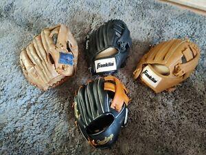 Baseball Mitt Colection