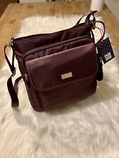 E.T.A Rosetti WINE Philly Large Crossbody W/ Pouch  MSRP $75 NWT GORGEOUS!