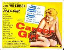 Career Girl Poster 02 A2 Box Canvas Print
