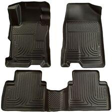 Husky Liners WeatherBeater Floor Mats-3pc-98531-Vibe/Corolla/Matrix 09-13- Black
