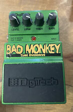 More details for digitech bad monkey overdrive pedal