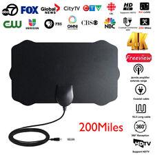 200 miglia 1080P Digitale Antenna TV Interna Amplificata Potente HDTV VHF UHF