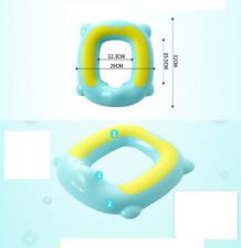 Adaptador de asiento de Inodoro de Entrenamiento Niños Entrenador Para Niños O Niñas Rosa Seguro Antideslizante