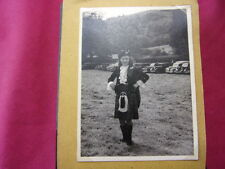 ALBUM PHOTO / VOYAGE ECOSSE, HIGHLANDS, GLASGOW...53 photos 1950