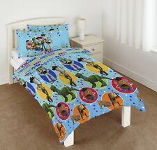 Disney Toy Story 4 Single Duvet Quilt Cover Set Boys Kids Child Blue Bed Gift
