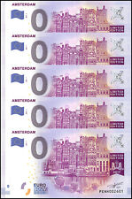 Zero - 0 Euro Europe X 5 Pieces - PCS, 2017, UNC, Amsterdam, Netherlands Limited