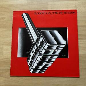 Sledgehammer (NWOBHM): Blood on their hands, UK 1st issue vinyl album