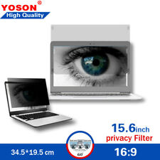 Privacy Filters for 15.6 inch 16:9 Laptops Computer Monitor Screen Protectors