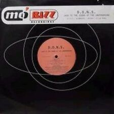 """D.O.N.S. Jack to the sound of the underground (Dons/Klubbheads/SM-T.. [Maxi 12""""]"""