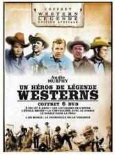 Coffret 6 DVD Audie Murphy : Un héros de légende - Westerns