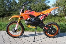 PIT BIKE 125 4 TEMPI MOTO CROSS ENDURO 4 MARCE DIRT BIKE RUOTE 17/14 CASCO FREE