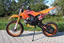 PIT BIKE 125 4 TEMPI MOTO CROSS ENDURO 4 MARCE DIRT BIKE RUOTE 17/14 CASCO FREE