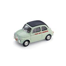 FIAT 500 SPORT ABARTH RECORD DURATA MONZA 1958 1:43 Brumm Auto Competizione