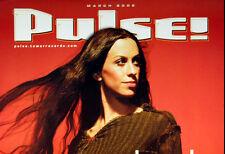 Alanis Morissette March 2002 Pulse Magazine Covr Poster Original