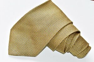"""BROOKS BROTHERS MAKERS YELLOW Men's Neck Tie W:4"""" by L:60"""""""