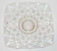 """RARE Indiana Glass Constellation Low Footed Pedestal Cake Plate Stand - 11 1/2"""""""