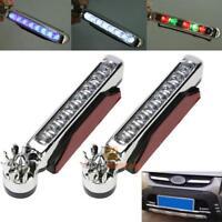 2x Wind Power 8 LED Car Daytime Running Light Fog Bulb DRL Driving Day Lamp