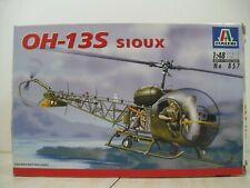 Italeri 1/48 Oh-13S Sioux Helicopter #857