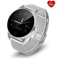 Smartwatch FTKH8 Pulsuhr Smartband Edelstahl Fitnessarmband Tracker Sport Uhr