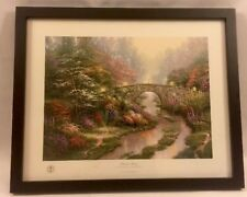 Thomas Kinkade, Stillwater Bridge - Framed Lithograph Print