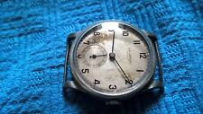 UNIVERSAL GENEVE WATCH  SUB SECOND  MILITARY ANSE FISSE ANNI 40