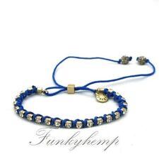 J.crew Crystal Blue String Friendship Bracelet
