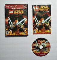 LEGO Star Wars The Video Game for Sony PlayStation 2 PS2 CIB Video Game