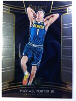 2018-19 Panini Select Concourse Michael Porter Jr. Rookie RC #37, Denver Nuggets