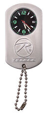 with chain rothco 3591 stainless steel dog tag watch