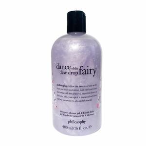 Philosophy Dance of the Dew Drop Fairy Shampoo Shower Gel Bubble Bath 16 Oz