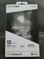 Tech21 Evo Check Series Case for Samsung Galaxy S9 - Smoke/Black