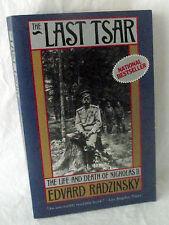 Last Tsar Nicholas II Russia Life Death Edvard Radzinsky Czar Emperior PB