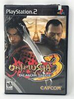 Onimusha 3: Demon Siege (Sony PlayStation 2, PS2, 2004) Complete