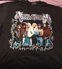 Vintage Original Nelson T-shirt 1990 XL Unworn Hair Band Glam Rock (A)