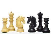ROOGU The Roman Empire Pracht XL Schachfiguren Ebenholz Set im Koffer KH 12cm