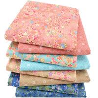 Stoffpaket 8 tlg Patchworkstoffe 100% Baumwolle Reste Fabric 40x50 cm